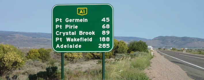 Getting to South Australia